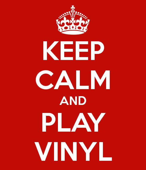 Keep Calm and Play Vinyl on KX FM 104.7