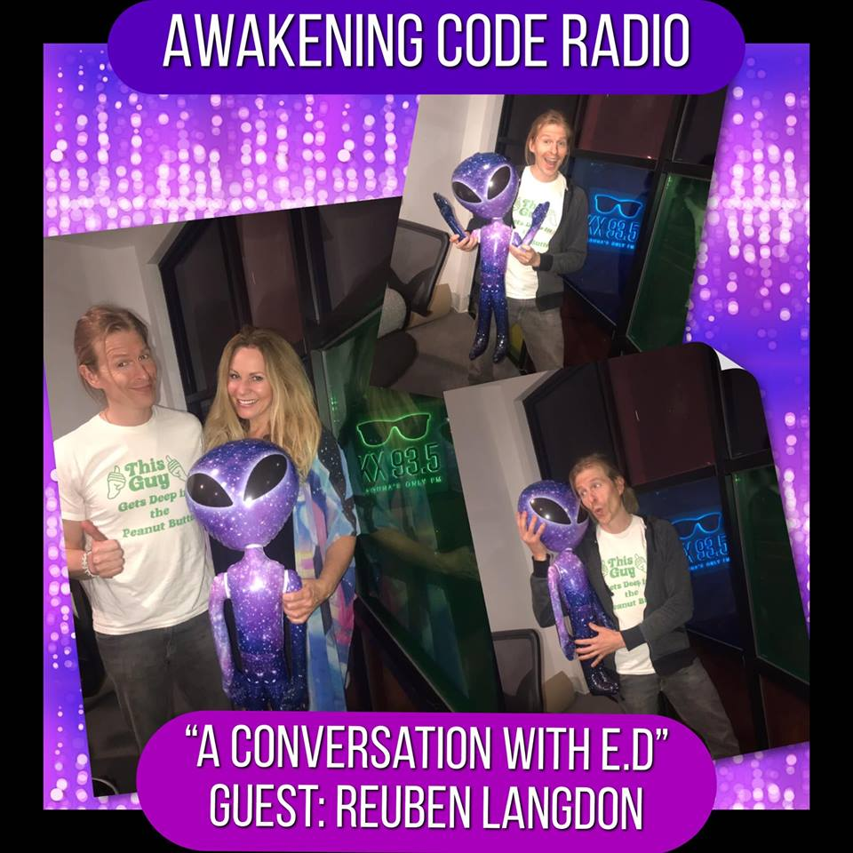 A Conversation with E.D: An In-Depth Discussion on Extra-Dimensional Existence with guest Reuben Langdon