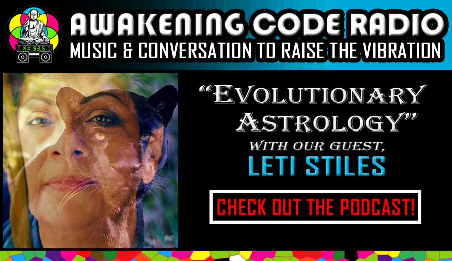 EVOLUTIONARY ASTROLOGY WITH LETI STILES